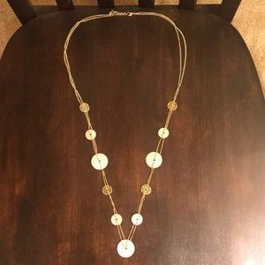 """18"""" Pink and Gold Necklace"""